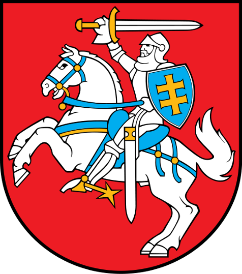 Traditional Vytis of Grand Duchy now Kingdom of Lithuania