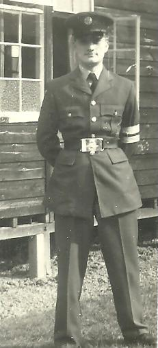 Prince Ronald, Senior Man at RAF Bridgnorth, Birmingham England
