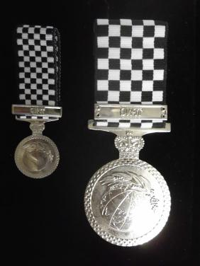 King Roman's Police Overseas Service Medal (TPNG)