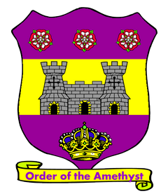 Arms of the Royal Order of the Amethyst