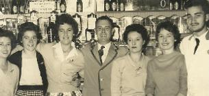 Prince Ronald, Barman at Butlin's Holiday Camp, Ayr Scotland 1960