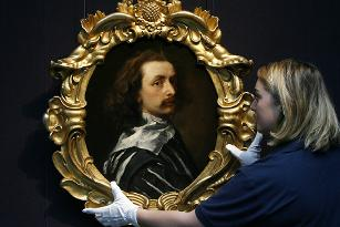 Self portrait of King Roman's ancestor Sir Anthony van Dyck
