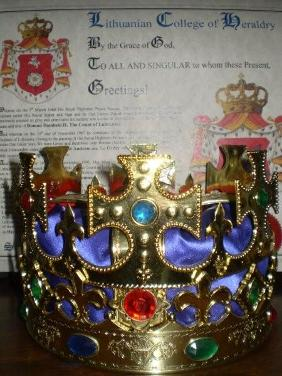 Crown and Letters Patent