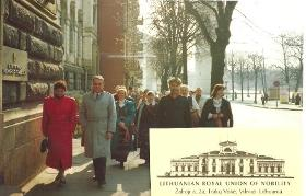 LBKS senate election Vilnius 1994
