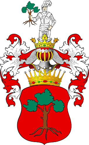 Arms of Count Dambski of Lubraniec