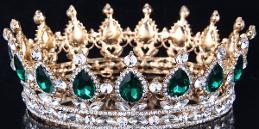 golden emerald crown