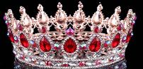 golden ruby crown
