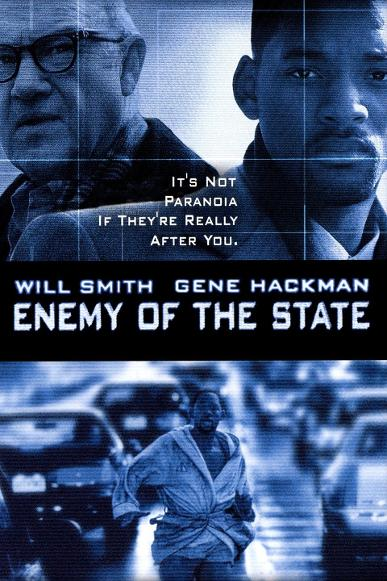 enemy of the state movie with will smith and gene hackman