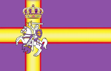 royal flag of the sovereign empire of europa