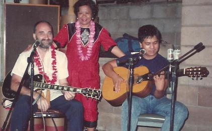 Prince Ronald entertaining in Honolulu
