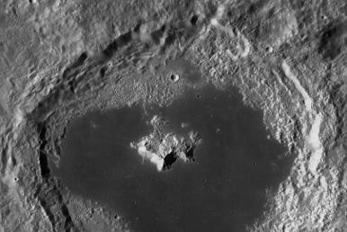 tsiolkovski crater on moon empire luna