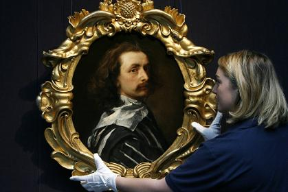 Self Portrait of Sir Anthony van Dyck